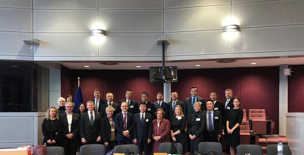 ELARD MEETING CHINESE DELEGATION IN BRUSSELS