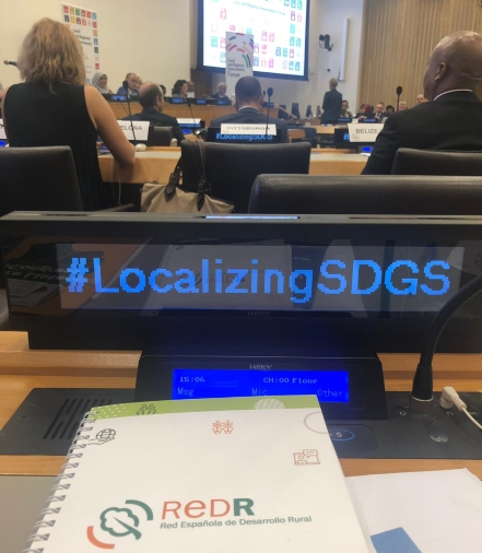 Local areas and organisations are essential to the achievement of the SDGs and the 2030 Agenda