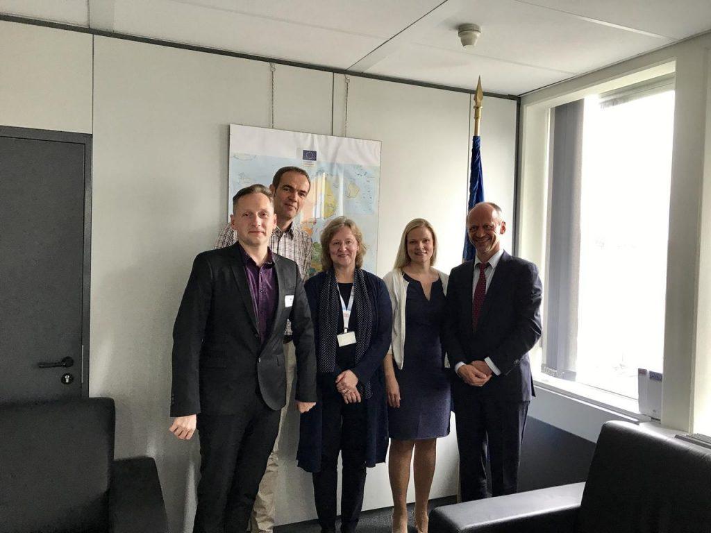 ELARD delegation meeting with Mr. Normunds Popens, DG REGIO Deputy Director-General