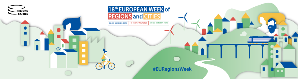List of events where ELARD with partners are present at European Week of Regions and Cities – register latest on 7th of October