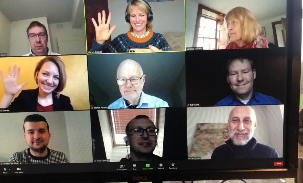ERP steeringgroup met on 11th of November