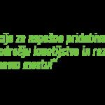 News from Slovenia