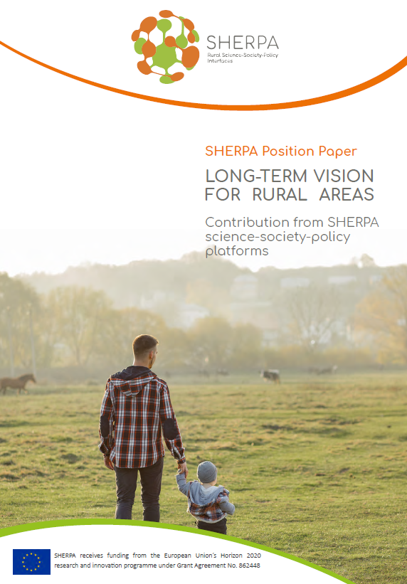 SHERPA's contribution to the Long-Term Vision for Rural Areas