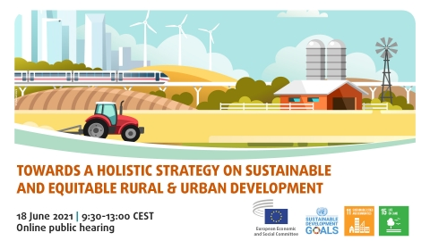 Towards a holistic strategy on sustainable and equitable rural and urban development